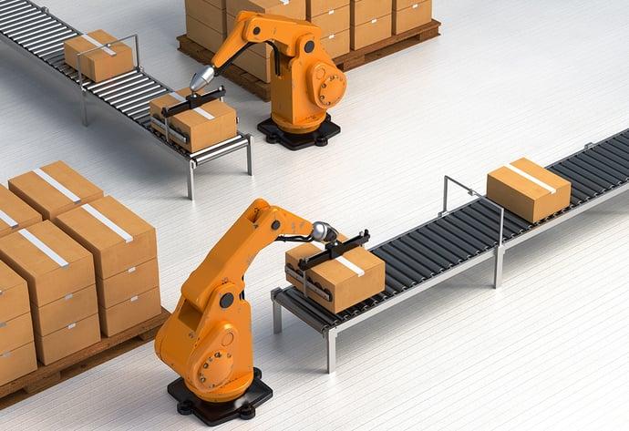 Robots running the warehouse? Not yet.