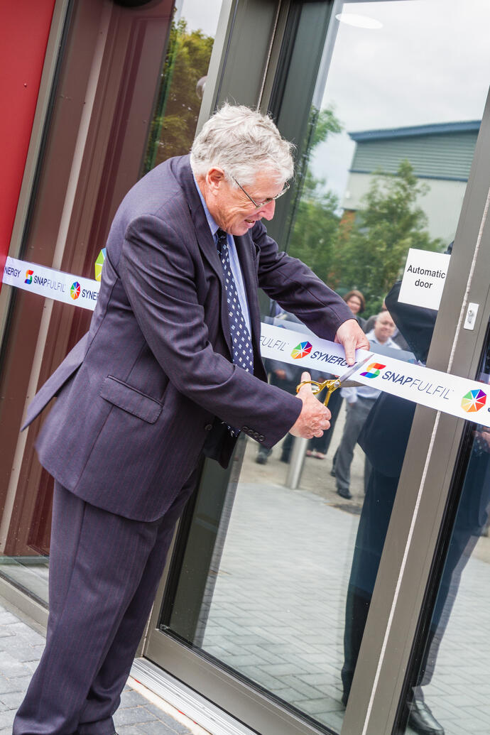 Synergy celebrates official opening of new global HQ