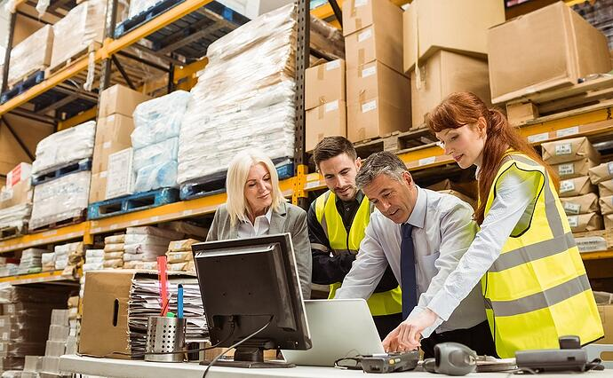 The value of a strong support organization in warehousing