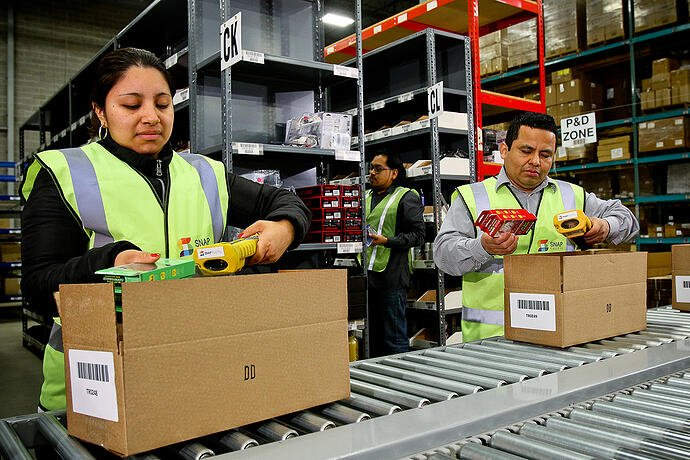 Warehousing and fulfillment - it's increasingly a people thing