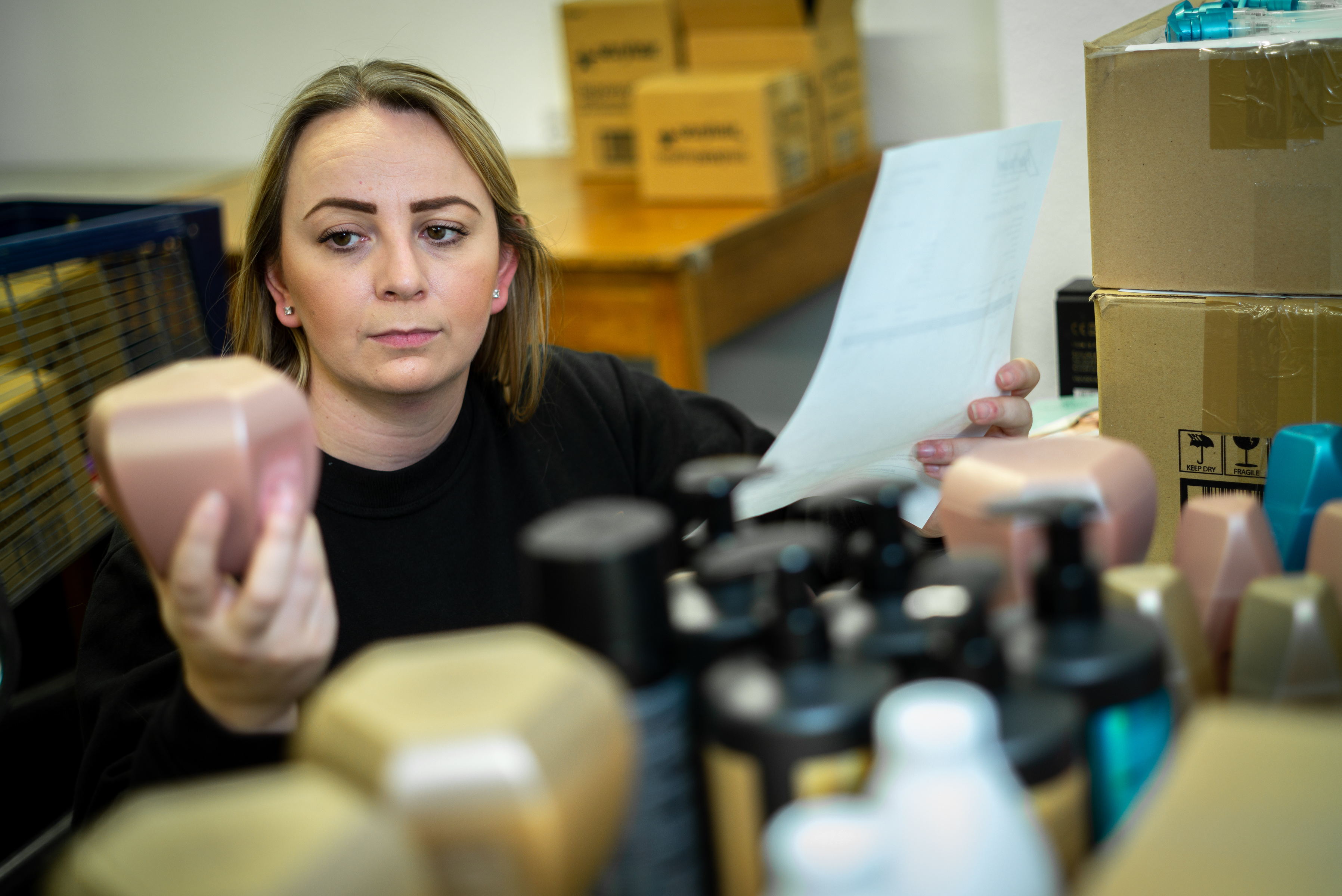 Beauty retailer is looking good thanks to new warehouse management system